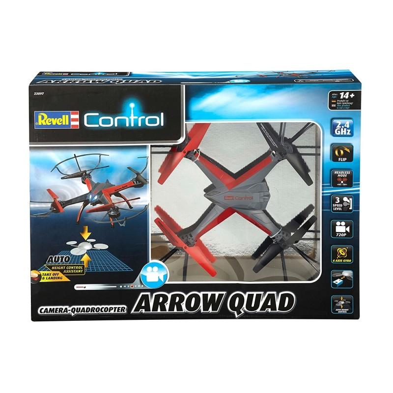 Dron Avion Revell Arrow QUAD Video 720p 23897