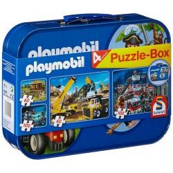 55599 - Maletín con 4 Puzzles - Playmobil