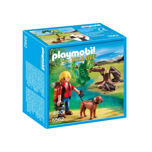 5562 - Castores con Montañero - Playmobil