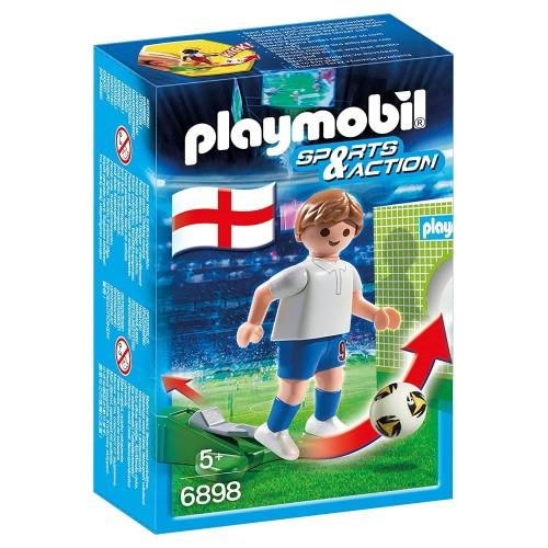 6898 - Jugador Fútbol Inglaterra - Playmobil