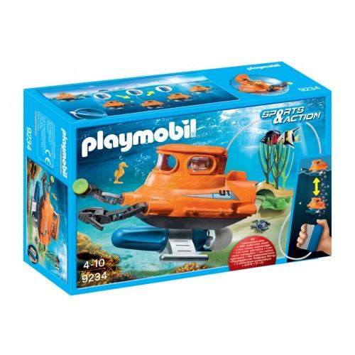9234 - U-Boot con Motor Acuático - Playmobil