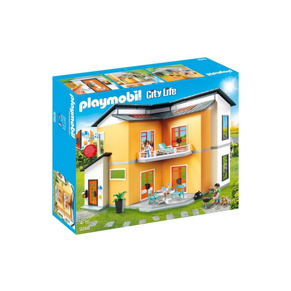 9266 casa moderna de playmobil playmobileros tienda for Casa moderna