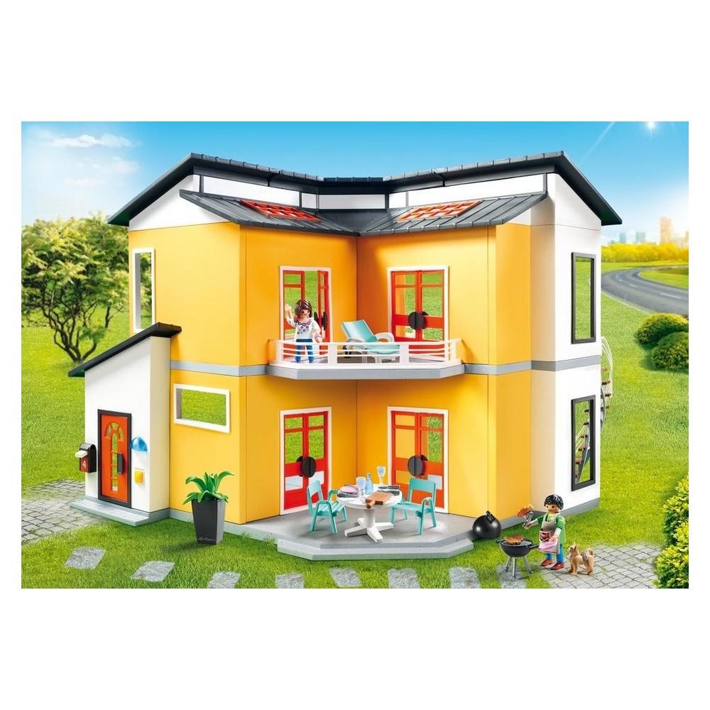 9266 casa moderna de playmobil playmobileros tienda for Casa moderna playmobil 5574