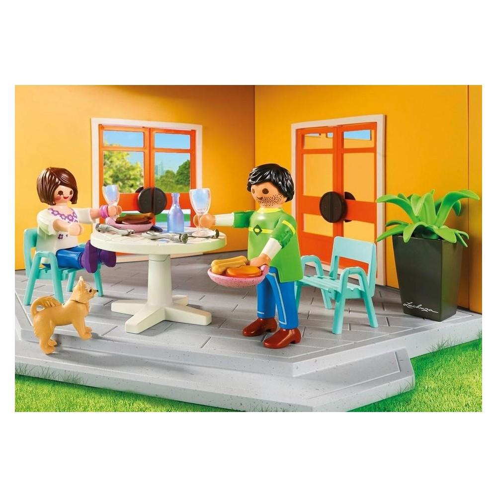 9266 casa moderna de playmobil playmobileros tienda for Cassa moderna