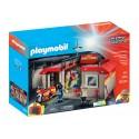 5663 - Estación de Bomberos Maletín - Playmobil
