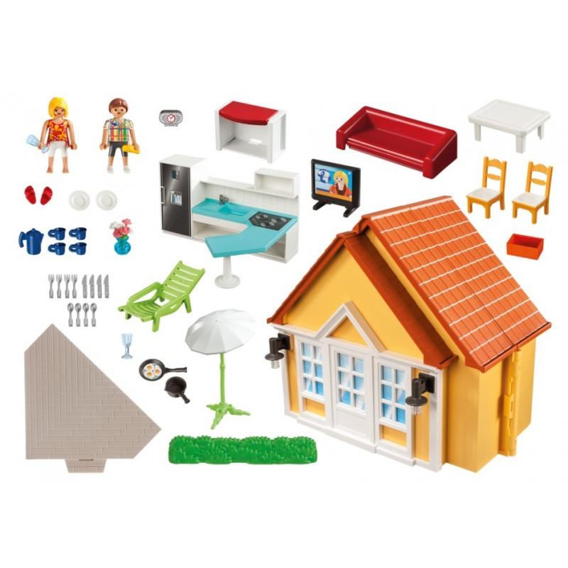 6020 casa de campo malet n playmobil playmobileros for Casa maletin playmobil