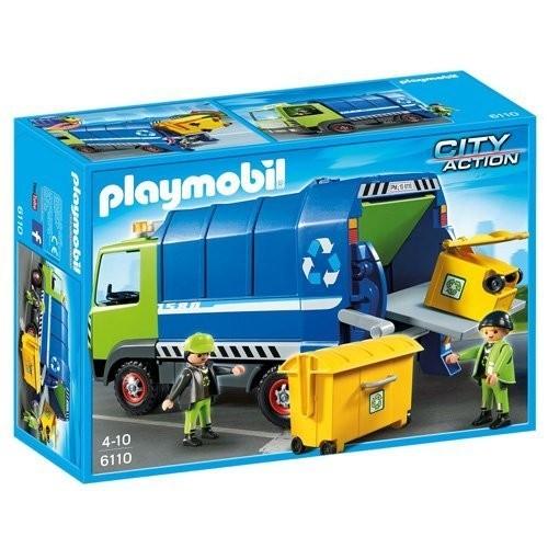 6110 - Camión de Reciclaje - Playmobil