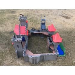 Castillo Medieval Playmobil con Torre del Asalto - OCASION