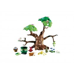 6397-enchanted with Marmite and potions - Playmobil forest