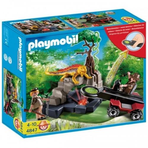 4847 - Busca Tesoros con Detector Metales - Playmobil