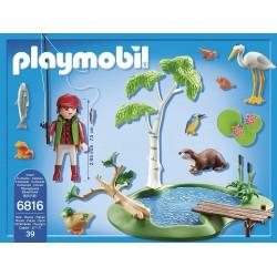 6816 - Lago con Animales - Playmobil