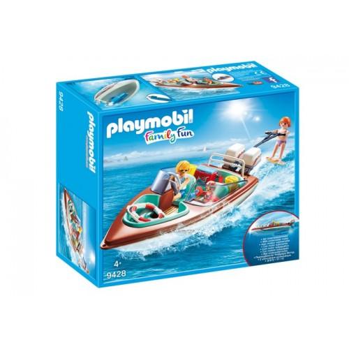 9428 - Lancha de Vacaciones con Motor - Playmobil