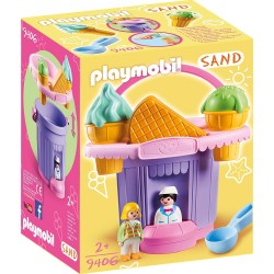 9406 - Cubo de Arena Heladería - Playmobil