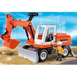 6860 - Escavadora con Carga Frotal - Playmobil