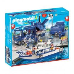 9400 - Policía Federal Mega Set - Exclusica Playmobil Alemania