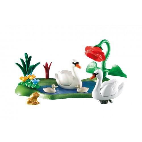 6359 cygnes dans l'étang - Playmobil