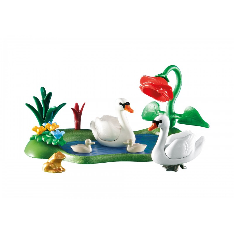 6359 swans in the pond - Playmobil