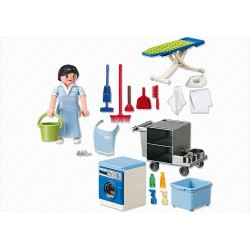 5271 service of cleaning - Playmobil