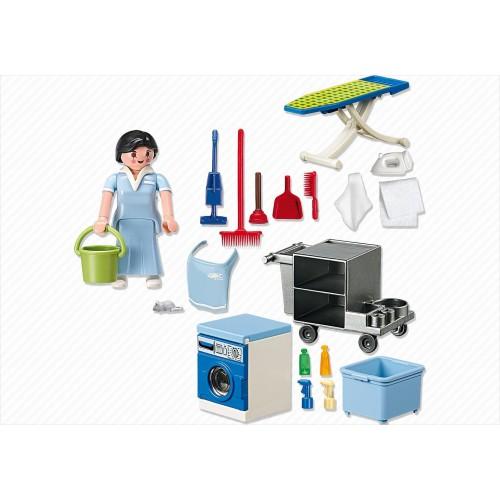 5271 - Servicio del Limpieza - Playmobil