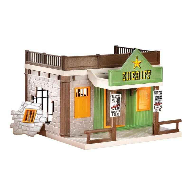 7378 ufficio dello sceriffo - ad ovest di Playmobil