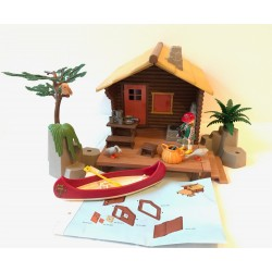 3826 cabin Fisher - second hand - Playmobil