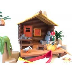 3826 - Cabaña del Pescador - Segunda Mano - Playmobil