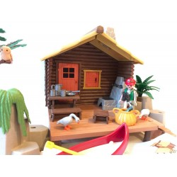 3826 cabine Fisher - seconde main - Playmobil