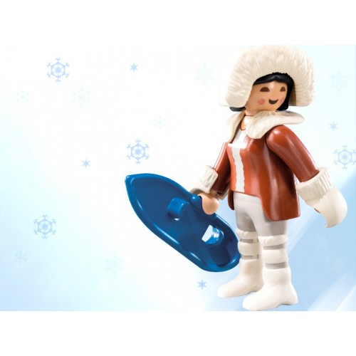 6841. Eskimo - figure Series 10 - Playmobil