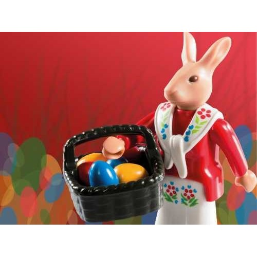 6841. Easter rabbit - Figures Series 10 - Playmobil