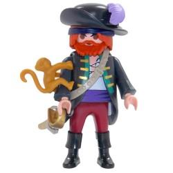 6840-pirata con Mono-figure serie 10-Playmobil