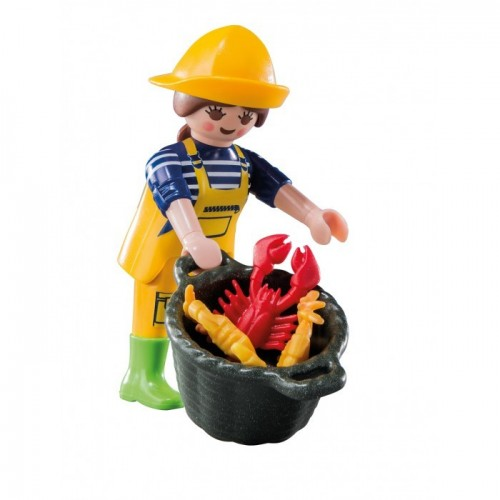 6841 - Pescadora - Figures Series 10 - Playmobil