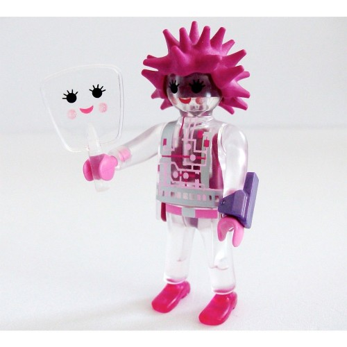 6841-robot pink-Figures Series 10-Playmobil