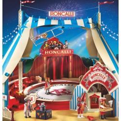 9040 - Circo Roncalli - Carpa Escenario Mostrador Tickets - Playmobil - Edición Exclusiva