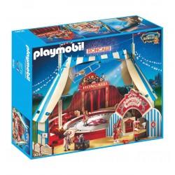 9040 circo Roncalli - fase tenda contrastare biglietti - Playmobil - edizione esclusiva
