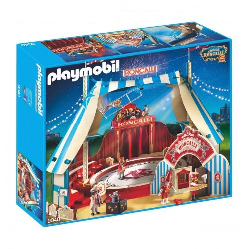 9040 cirque Roncalli - scène tente contrer billets - Playmobil - édition exclusive