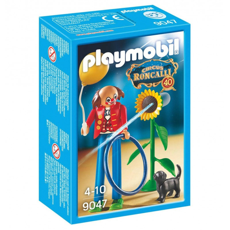 9047 clown del circo Roncalli - Playmobil