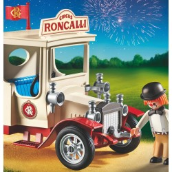 9042 van with clown - circus Roncalli - Playmobil