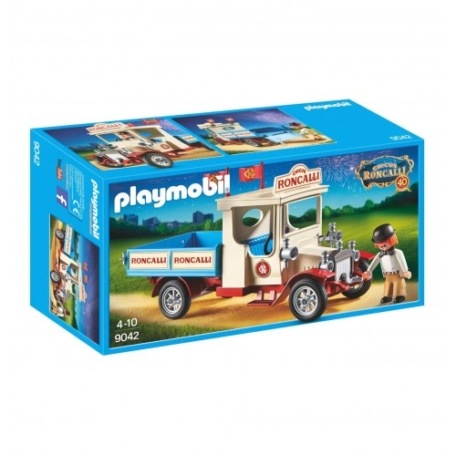 9042 van avec clown - cirque Roncalli - Playmobil