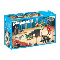 9048 domatore di cani - circo Roncalli - Playmobil
