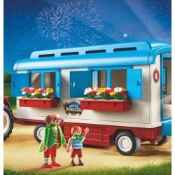 9041 tractor with Caravan - circus Roncalli - Playmobil