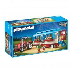 9041 trattore con Caravan - circo Roncalli - Playmobil