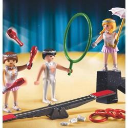 9045 acrobati - circo Roncalli - Playmobil