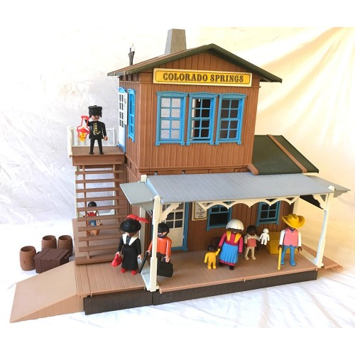 3770 train station Colorado Springs - second hand - Playmobil