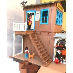 3770 - Estación de Tren Colorado Springs - Segunda Mano - Playmobil