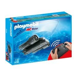 eau moteur 5536 avec télécommande - Playmobil