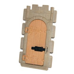 Door wall - arc + 3132601 - Medieval Castle - system Steck Playmobil