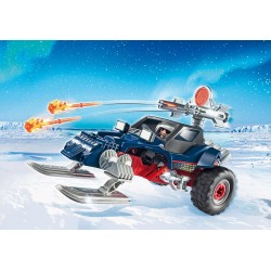 9058 - Pilot ice Pirates with Lanzallama - Playmobil