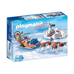 9057-sled of dogs Polar-Playmobil