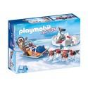9057-sled of dogs Polar-Playmobil