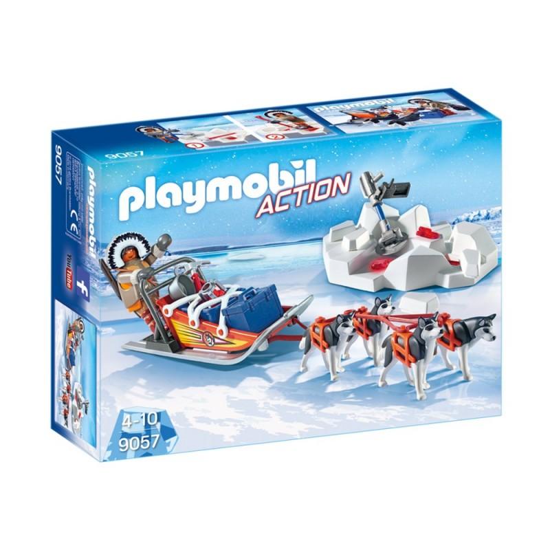 9057 dogsled Polar - Playmobil